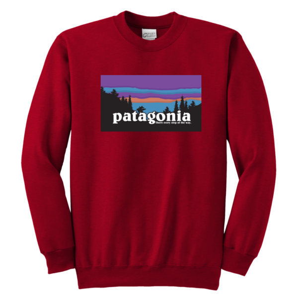 Patagonia Logo New Design Youth Crewneck Sweatshirt