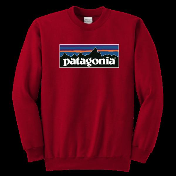 Patagonia Logo Youth Crewneck Sweatshirt