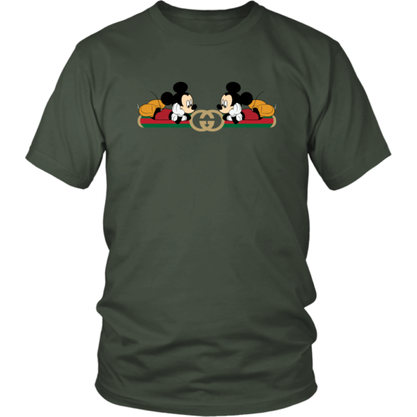 Gucci Mickey Mouse Limited Edition Unisex Shirt