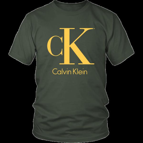 Calvin Klein Gold Logo Premium Unisex Shirt