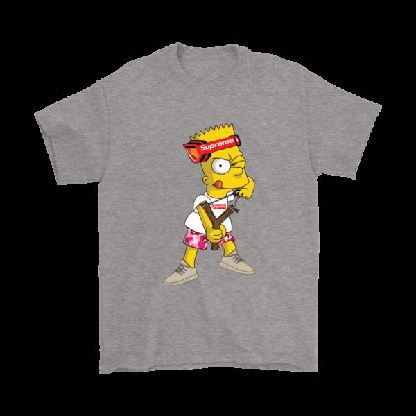 Bart Simpson Gucci Supreme Mens T-Shirt