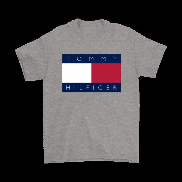 Tommy Hilfiger Logo Mens T-Shirt