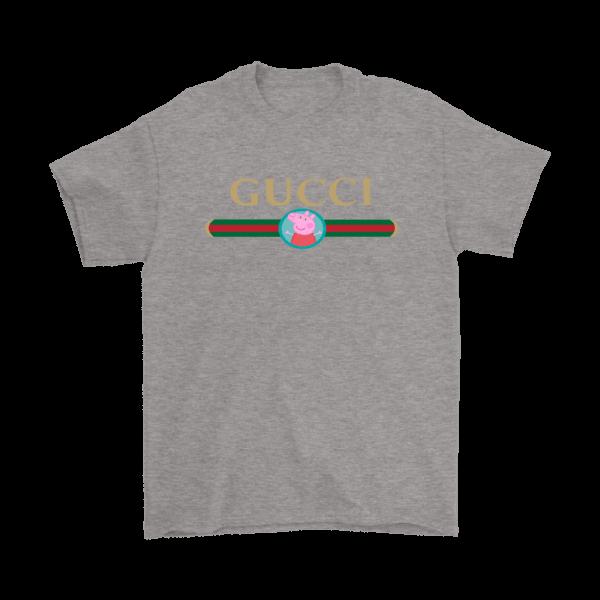 Peppa Pig Gucci Logo Premium Mens T-Shirt
