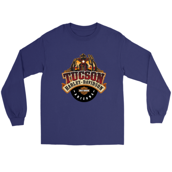 Harley Davidson Of Tucson Long Sleeve Tee