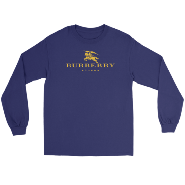 Burberry Gold Edition Logo Long Sleeve Tee
