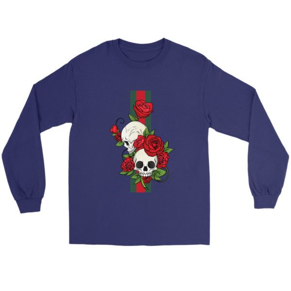 Roses Of Gucci Skull Premium Long Sleeve Tee