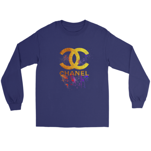 CoCo Chanel Gold Logo Limited Edition Long Sleeve Tee