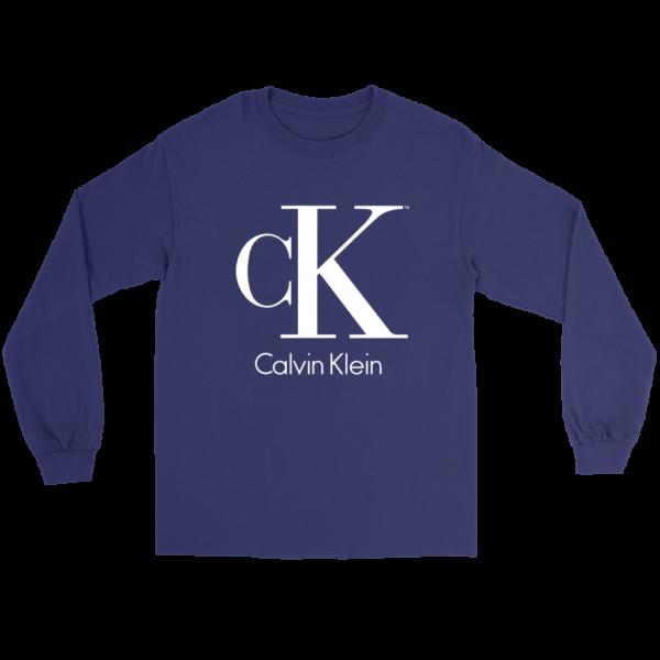 Calvin Klein Logo Long Sleeve Tee
