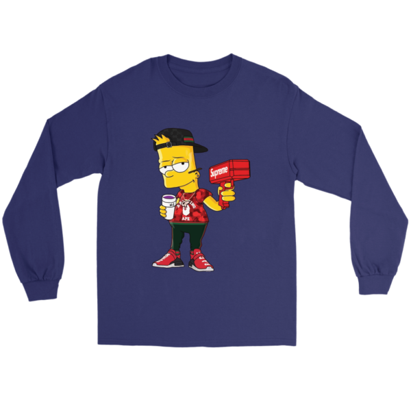 Bart Simpson Gucci Limited Edition Long Sleeve Tee