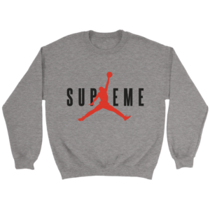 SUPREME BASKETBALL JORDAN Crewneck Sweatshirt