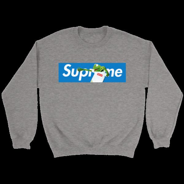 Supreme x Kermit The Frog Limited Crewneck Sweatshirt