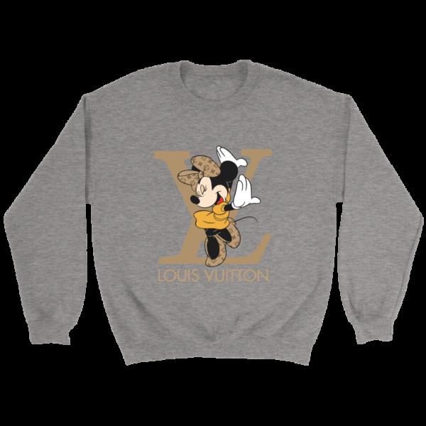 Minnie Mouse Louis Vuitton Edition Crewneck Sweatshirt