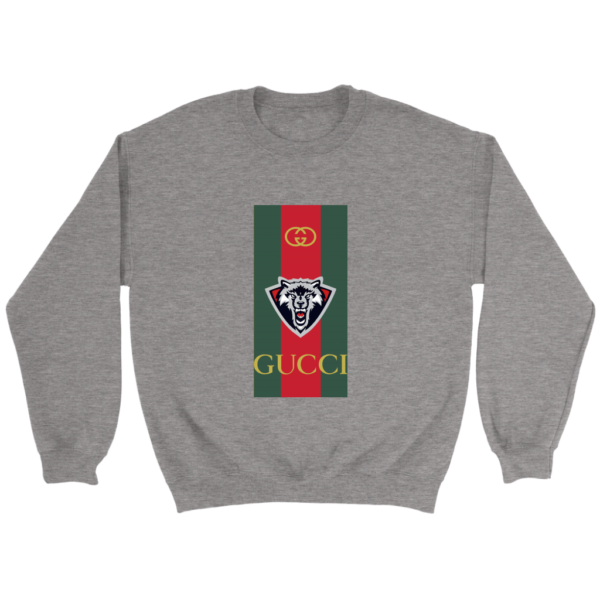 Gucci Wolf Printed Logo Limited Edition Crewneck Sweatshirt