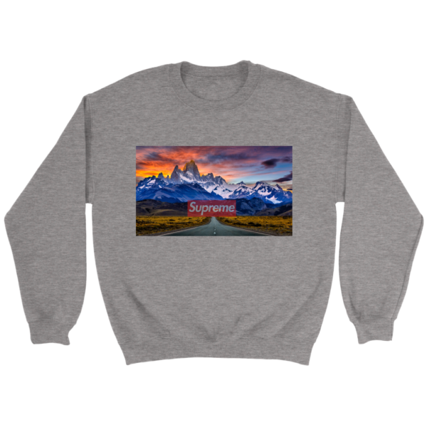 Supreme Patagonia Mountains Crewneck Sweatshirt