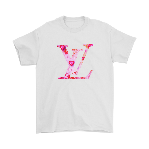 Louis Vuitton Love Logo Mens T-Shirt