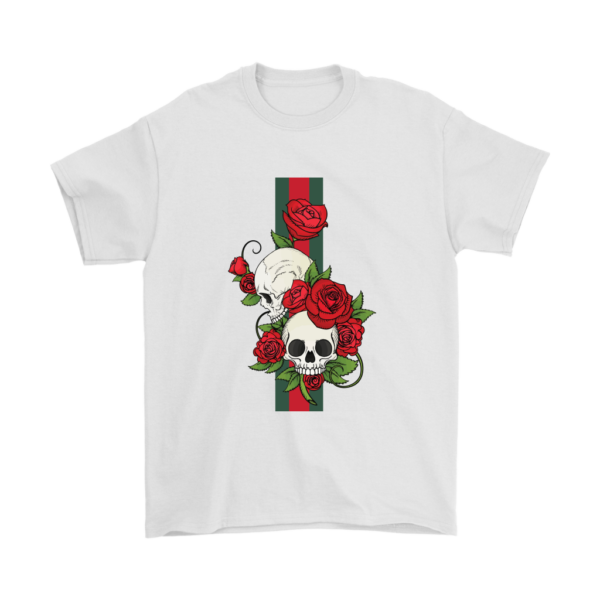 Roses Of Gucci Skull Premium Mens T-Shirt