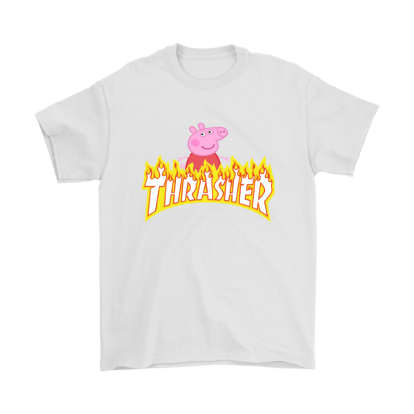 Peppa Pig Thrasher Premium Mens T-Shirt