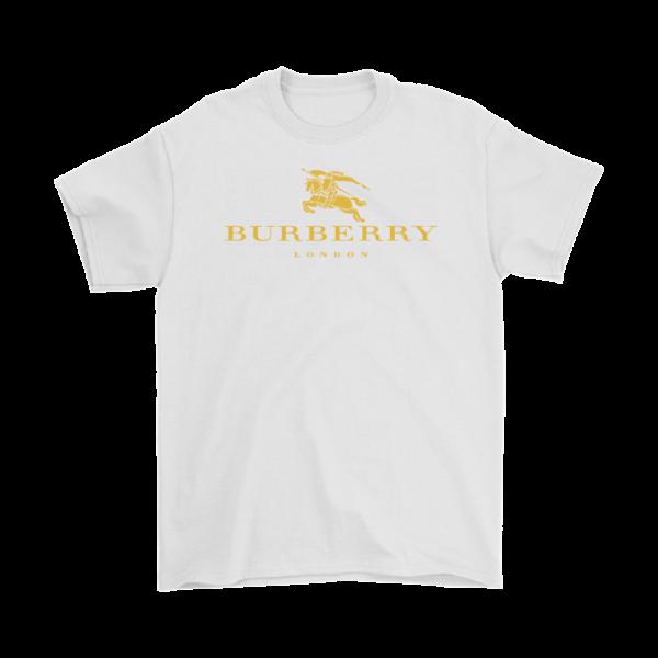 Burberry Gold Edition Logo Mens T-Shirt