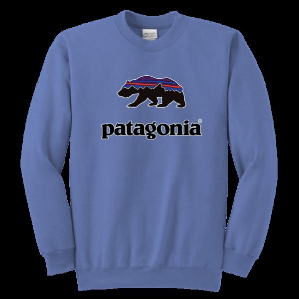 Patagonia Fitz Roy Bear Youth Crewneck Sweatshirt