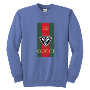 Gucci Wolf Printed Logo Limited Edition Youth Crewneck Sweatshirt