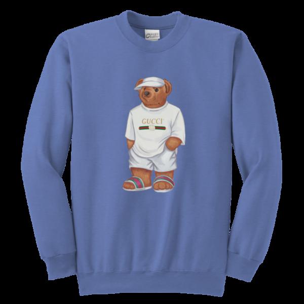 LIFE'S GUCCI BEAR Youth Crewneck Sweatshirt