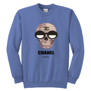 Chanel Skull Logo Youth Crewneck Sweatshirt