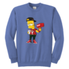 Bart Simpson Gucci Supreme Youth Crewneck Sweatshirt