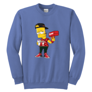 Bart Simpson Gucci Limited Edition Youth Crewneck Sweatshirt