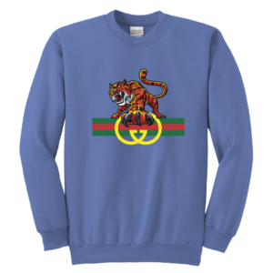 Tiger Gucci Logo Youth Crewneck Sweatshirt