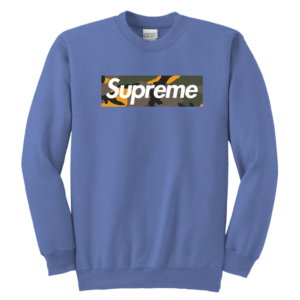 Supreme Brooklyn Logo Youth Crewneck Sweatshirt