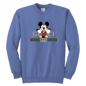 Gucci Logo Mickey Mouse Clubhouse Disney Youth Crewneck Sweatshirt