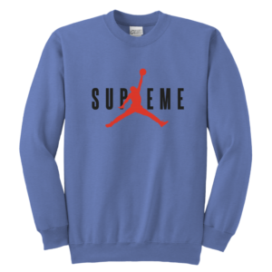 SUPREME BASKETBALL JORDAN Youth Crewneck Sweatshirt