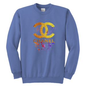 CoCo Chanel Gold Logo Limited Edition Youth Crewneck Sweatshirt