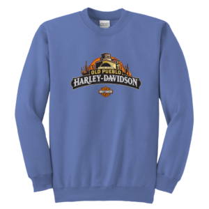 Old Pueblo Harley Davidson Youth Crewneck Sweatshirt