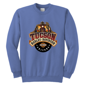 Harley Davidson Of Tucson Youth Crewneck Sweatshirt