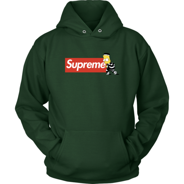 Bart Simpson Supreme Unisex Hoodie