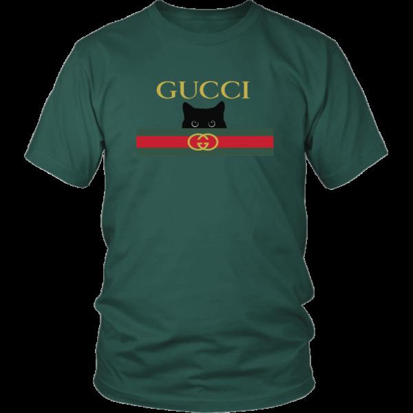 Gucci Black Cat Secret Logo Unisex Shirt