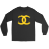 CoCo Chanel Logo Long Sleeve Tee
