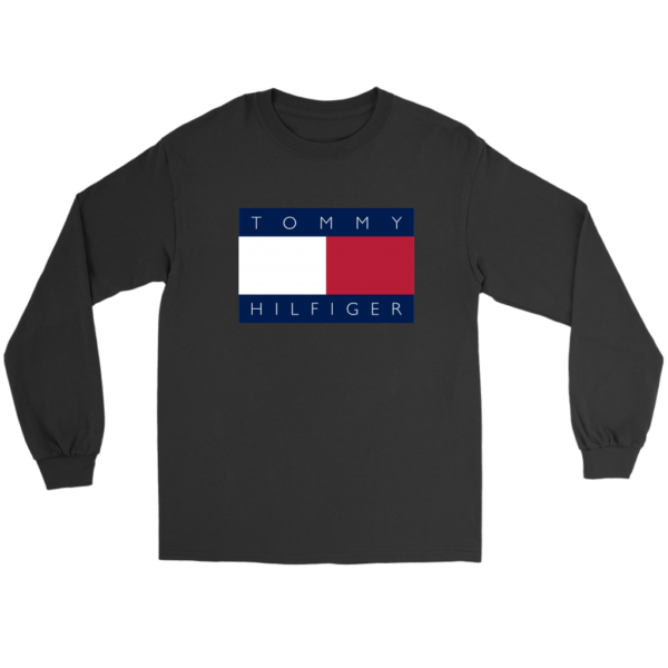 Tommy Hilfiger Logo Long Sleeve Tee