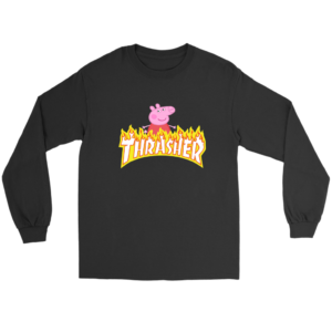 Peppa Pig Thrasher Premium Long Sleeve Tee