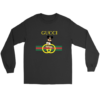 Gucci Logo With Batman Long Sleeve Tee