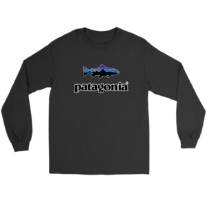 Patagonia Fish Logo Long Sleeve Tee