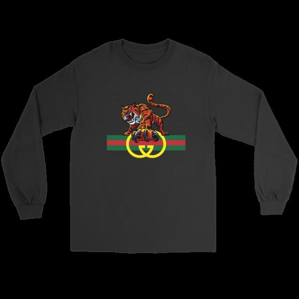 Tiger Gucci Logo Long Sleeve Tee