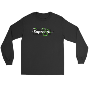 Supreme Snake Logo Limited Edition Long Sleeve Tee