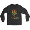 Gucci Champion Rose Long Sleeve Tee