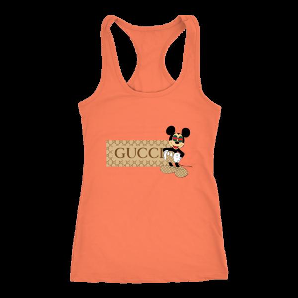 Gucci Mickey Mouse Premium Women's Tank Top