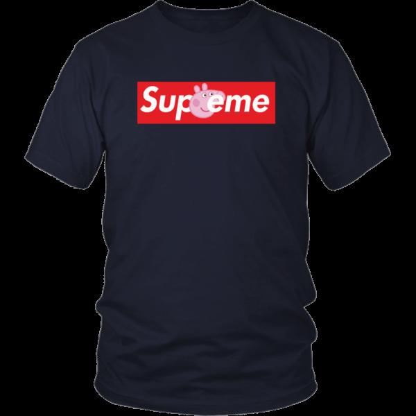 Supreme Peppa Pig Unisex Shirt