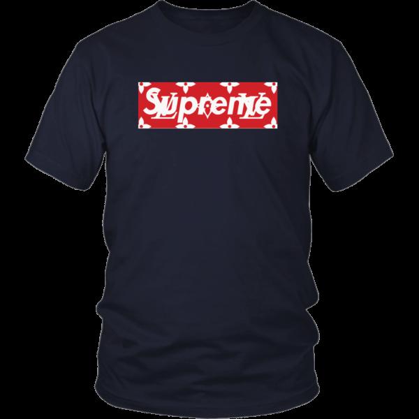 Supreme x Louis Vuitton Logo Unisex Shirt