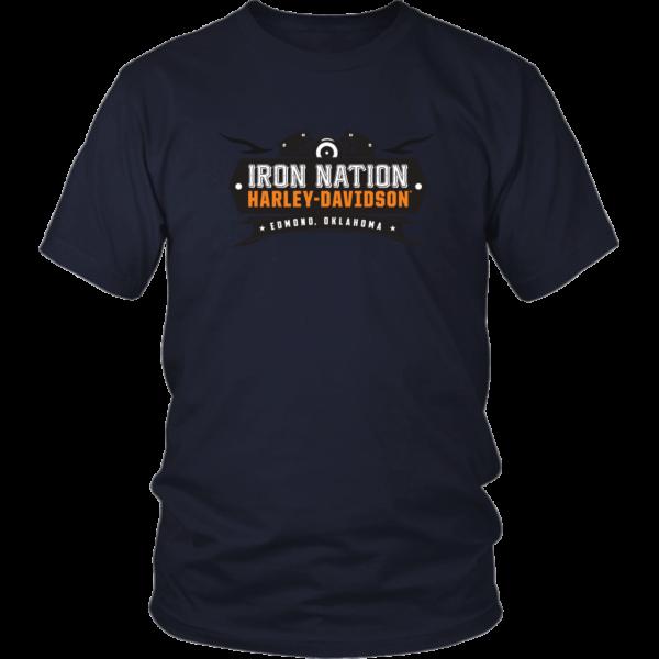 Iron Nation Harley Davidson Logo Unisex Shirt