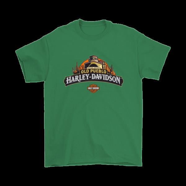 Old Pueblo Harley Davidson Mens T-Shirt
